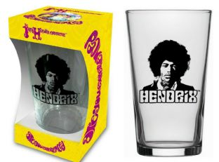 JIMI HENDRIX - ARE YOU EXPERIENCED PINT GLASS (NEW/BOX) (PG008)